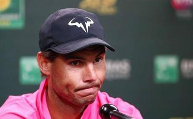 Nadal renuncia a las semifinales con Federer y ya piensa en la arcilla