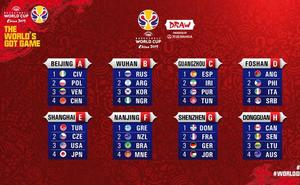 Suerte para España en el sorteo del Mundial de China