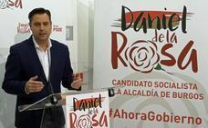 De la Rosa: «El PSOE está más cerca que nunca» de la Alcaldía de Burgos