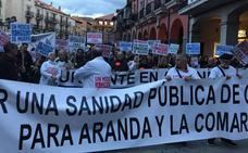 La coordinadora de Sanidad de Aranda prepara una nueva manifestación para mayo