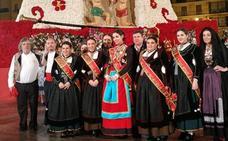 Una delegación encabezada por Carolina Blasco representa a Burgos en las Fallas de Valencia