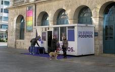 La Junta Electoral recuerda que está prohibido colocar casetas fijas en Burgos durante la campaña