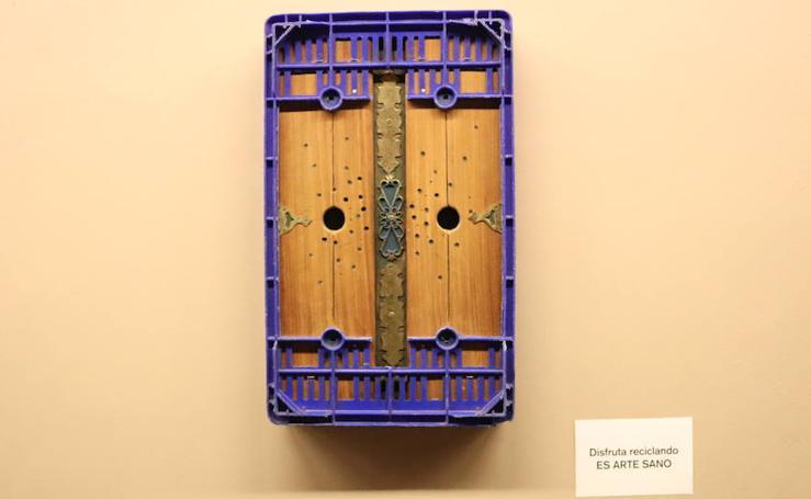 La exposición 'Anverso, reverso' de Carlos Cubillo, en imágenes