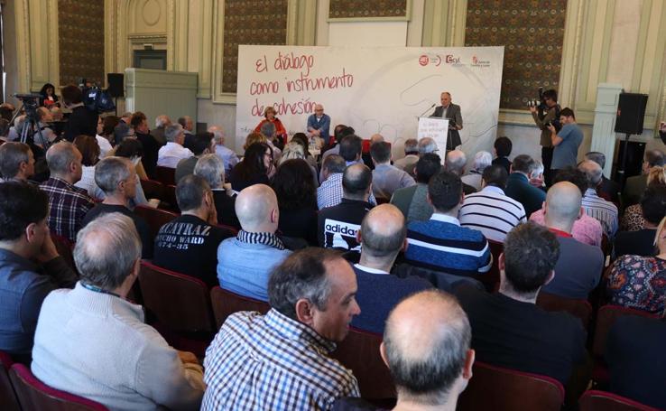 Jornada de Diálogo Social organizada por UGT
