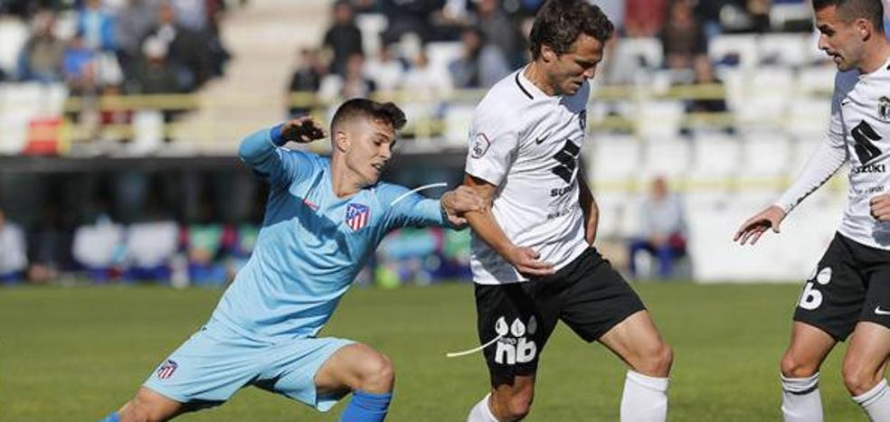 Un Burgos CF en racha se enfrenta al Atlético de Madrid B con la baja de Julio Rico