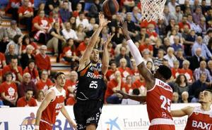 Sufrida victoria del San Pablo Burgos ante el Manresa