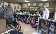 El proyecto 'Ponte en mis zapatos' llega a Burgos para concienciar sobre la discapacidad a los niños
