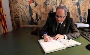 Torra pide reforzar todos los frentes pero debilita su Govern relevando a dos consejeras