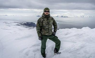 Un medinés al mando en la Antártida