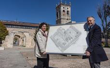 Rodríguez de Partearroyo dona a la UBU ocho grandes dibujos de la restauración del Hospital del Rey
