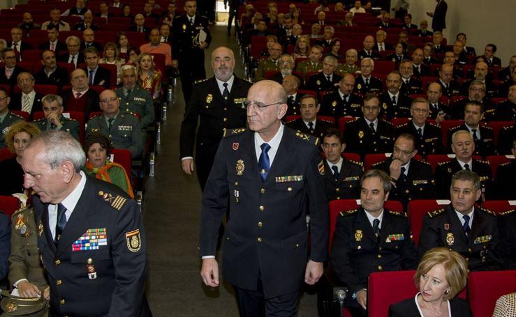 Toma de posesión del nuevo jefe superior de Policía de Castilla y León