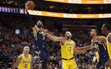Ricky Rubio roza el 'doble-doble' y los Jazz los 'playoffs'