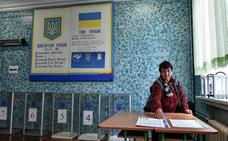 Los ucranianos votan en busca de un cambio