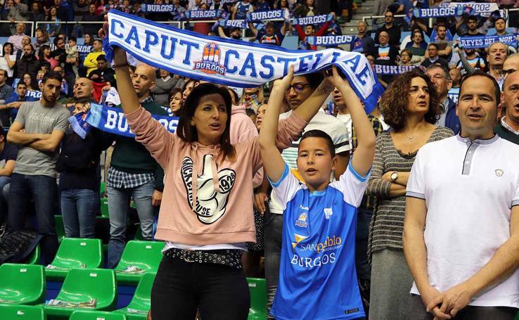 Búscate entre el público del San Pablo Burgos-Monbus Obradoiro en el Coliseum