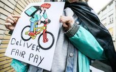 Los 'riders', adscritos al convenio colectivo de la hostelería, al menos hasta 2021