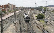 Adif AV licita el mantenimiento de la catenaria en la línea de alta velocidad Venta de Baños-Burgos