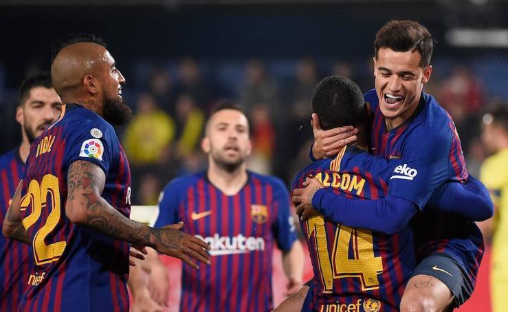 Las mejores imágenes del Villarreal-Barcelona
