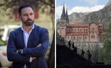 Abascal empieza la campaña de Vox en Covadonga