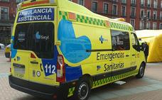 Herido un joven de 24 años tras chocar un turismo y una moto en la calle Cid de Miranda de Ebro