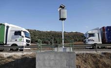 Tráfico instala su primer radar multicarril de la red principal en la carretera de Soria