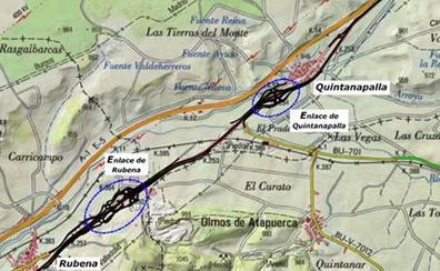 Fomento agiliza las expropiaciones para mejorar la N-I entre Rubena y Fresno de Rodilla