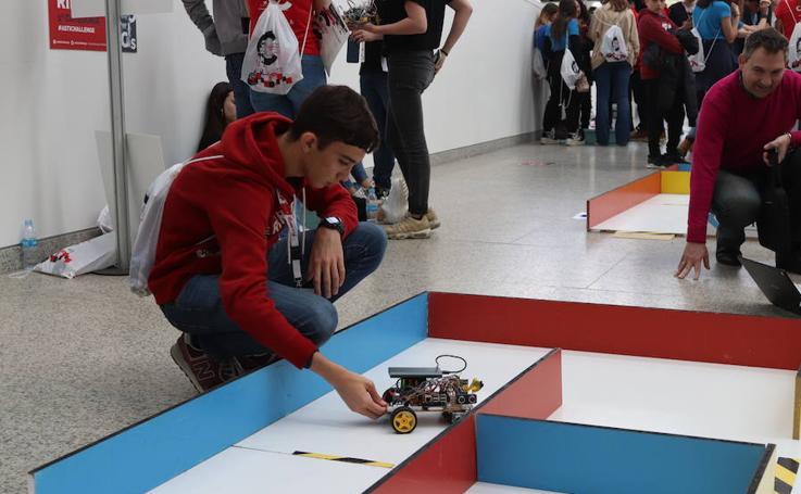 Tercer desafío 'Asti Robotics' en el Museo de la Evolución Humana