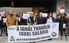 Los funcionarios de Justicia vuelven a la calle para exigir equiparación salarial