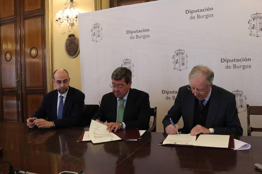 La Diputación ayuda con 320.000 euros a Proyecto Hombre y Fundación Aspanias Burgos