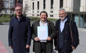 Manjón se postula como candidato a la alcaldía de Burgos por la coalición Vecinos