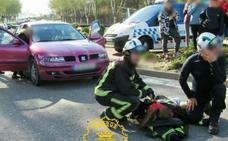 Una menor herida en un atropello en la carretera del Cementerio