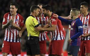 Ocho partidos de sanción a Diego Costa