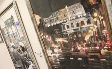 La exposición '3 Miradas Urbanas', en imágenes