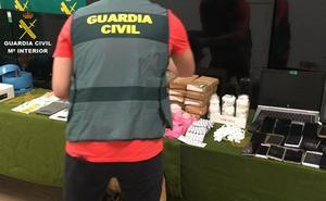 Incautan 30 kilos de cocaína al desmantelar una organización criminal que operaba en Burgos