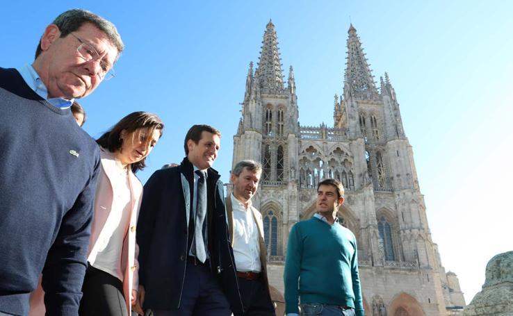 Pablo Casado en Burgos