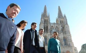 Casado en Burgos: «Nos duele la España que se está rompiendo»