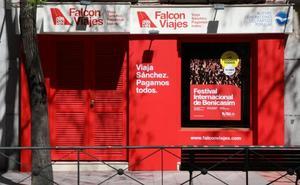 El PSOE pide la retirada inmediata de 'Falcon Viajes' y sanciones para el PP