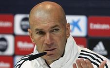 Zidane: «Hay muchos jugadores que pueden hacer caja»