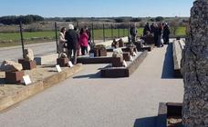 Inauguración del Jardín de Rocas del Museo del Petróleo en Sargentes de la Lora