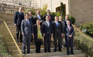 El embajador de China en España visita la DO Ribera del Duero