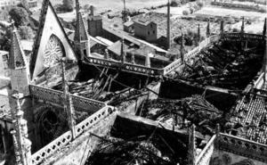 «El incendio de la Catedral de León enseñó que es mejor usar espuma que agua ante el fuego»