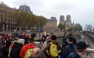 Más de un centenar de medineses se quedan sin ver Notre Dame