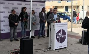 Podemos apela al espíritu de los comuneros para «alzar la bandera morada» y lograr la Alcaldía de Burgos