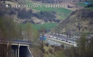 El puente de Semana Santa arranca con retenciones en la provincia de Burgos