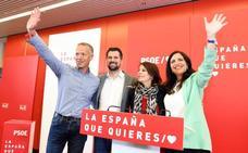 Adriana Lastra participa en un acto político del PSOE de Burgos