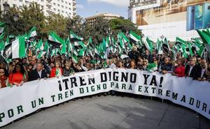 Extremadura: Votos en tren lento