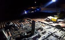 Susto sin consecuencias en el incendio de una vivienda en Cardeñadijo