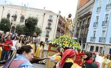 La procesión del Anuncio Pascual, en imágenes