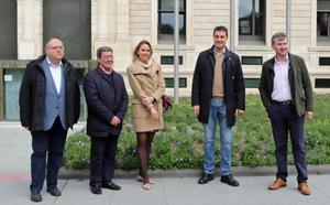 Ibáñez encabeza una candidatura «ganadora» para un proyecto de «consenso y diálogo» en las Cortes