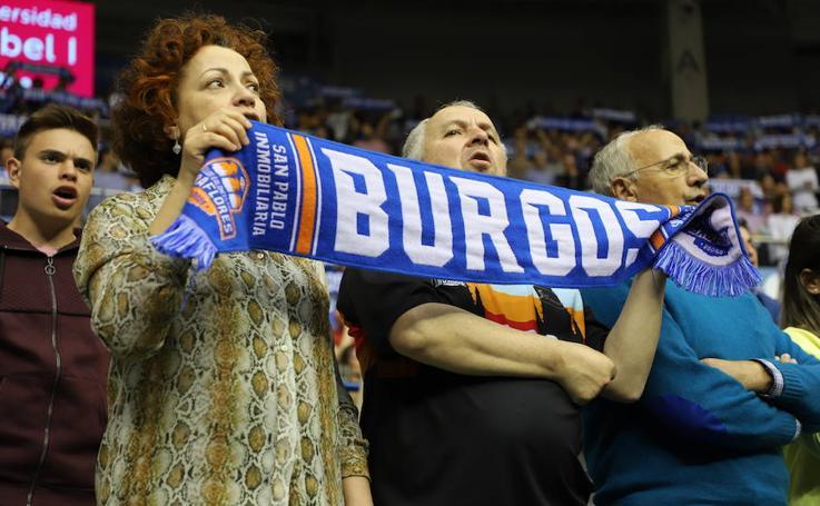 La afición burgalesa ha disfrutado con la victoria del San Pablo en el Coliseum
