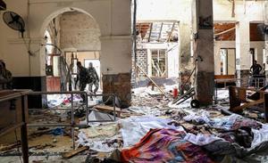 Aumenta a 290 la cifra de fallecidos por los atentados de Sri Lanka